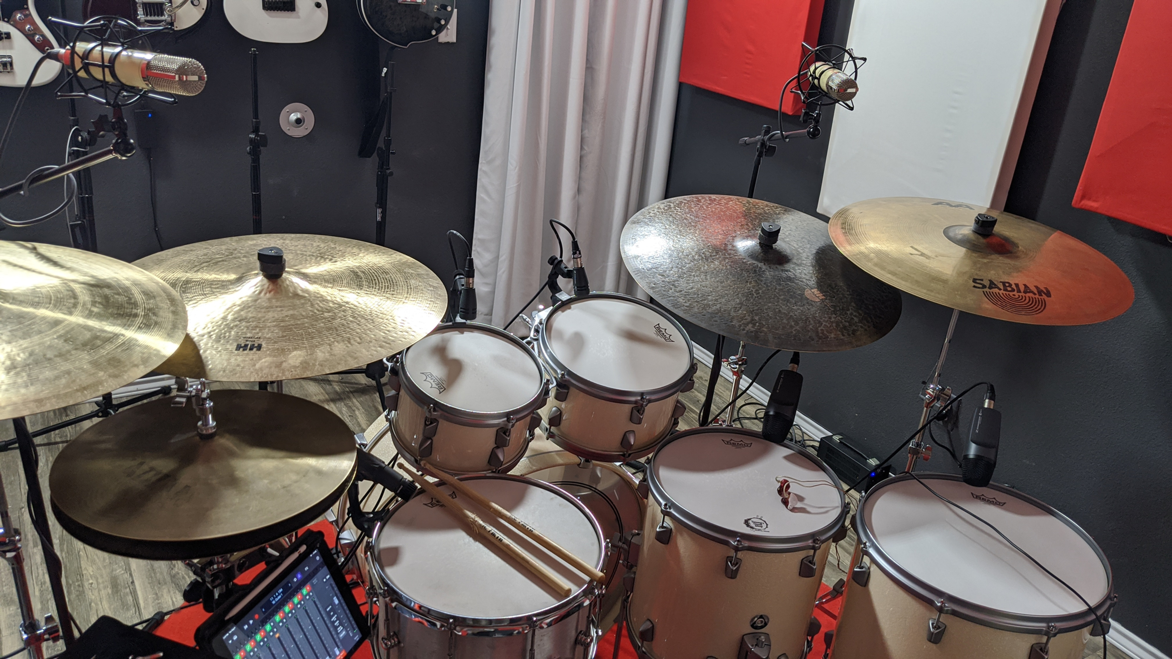 Remote Drum Track Recording
