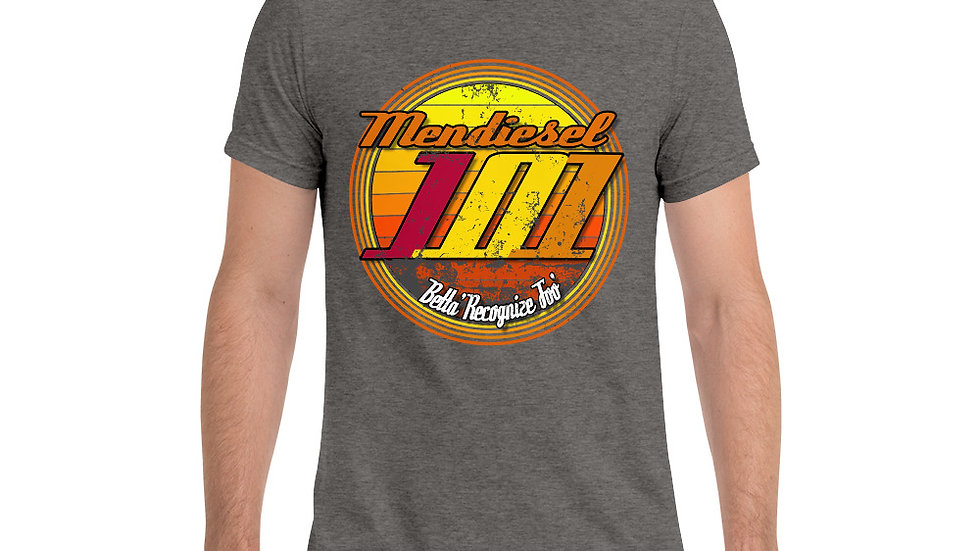 Mendiesel 101 Peace & Betta Recognize Foo' Triblend T-shirt