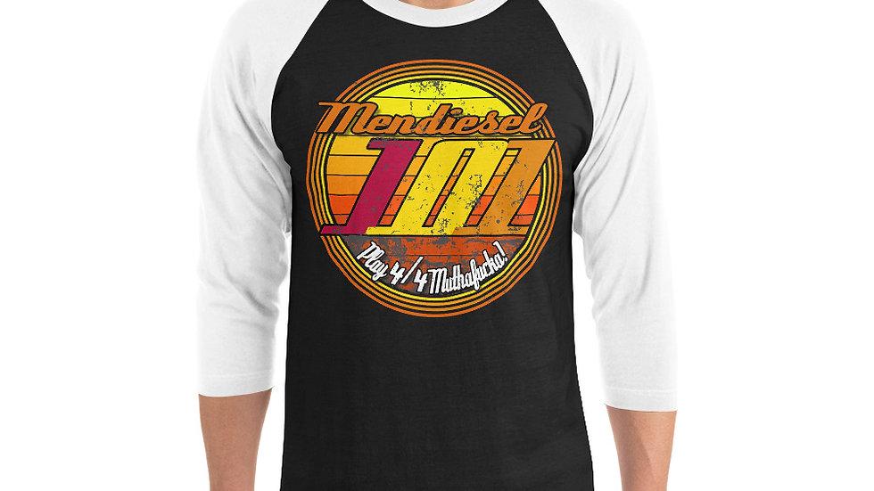 Mendiesel 101 Play 4/4 Muthaf**ka 3/4 sleeve shirt