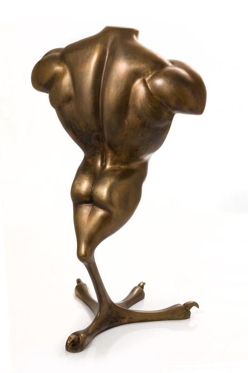 """Man cock"" bronze 45h"