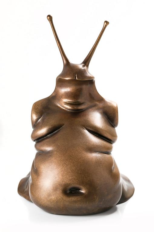 """""""Mr slug"""" bronze 27h"""