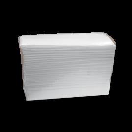 "Case of Easy Elegance White Standard 12"" x 10"" C-Fold Towels"