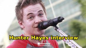 Hunter Hayes หนุ่มนักล่าอนาคตไกล ทุกลมหายใจคือดนตรี  กับการมาเยือนไทยครั้งแรก ที่งาน Sonic Bang