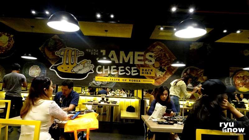 บรรยากาศร้าน James Cheese สาขาแรกในไทย