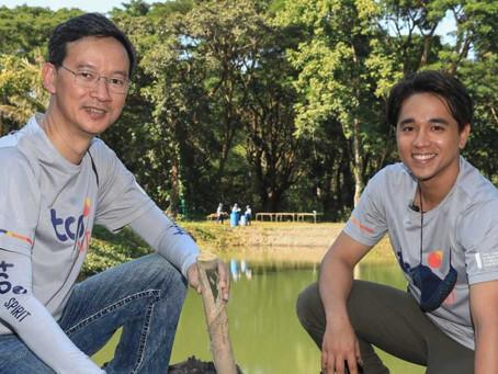 อเล็กซ์ นำอาสาสมัคร TCP Spirit เรียนรู้ต้นแบบการจัดการน้ำชุมชนอย่างยั่งยืน