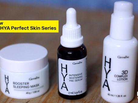 Review Giffarine HYA Perfect Skin Series ชุดหน้าเด้ง เนียน ใส ผิวไหนก็ใช้ได้