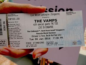 สาแก่ใจวัยรุ่น The Vamps Live in Singapore 2016