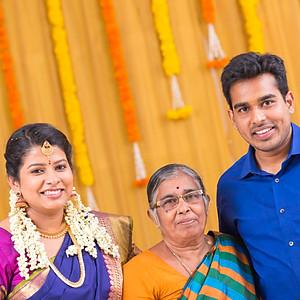 Sitara  Karthikeyan Engagement