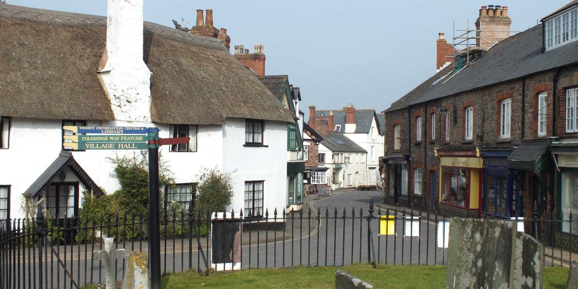 Porlock village