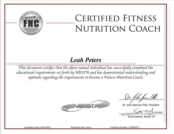 FNC certification.JPG