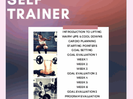 6 Weeks of Workouts: Download Your Self-Trainer Guide!