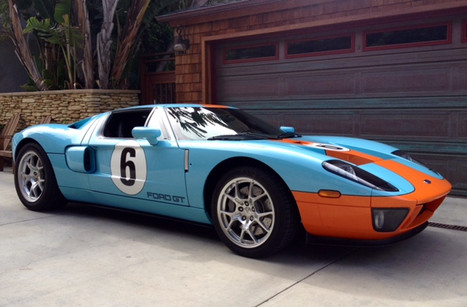 Ford GT Hertitage