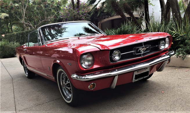 65 Ford Mustang Convertible