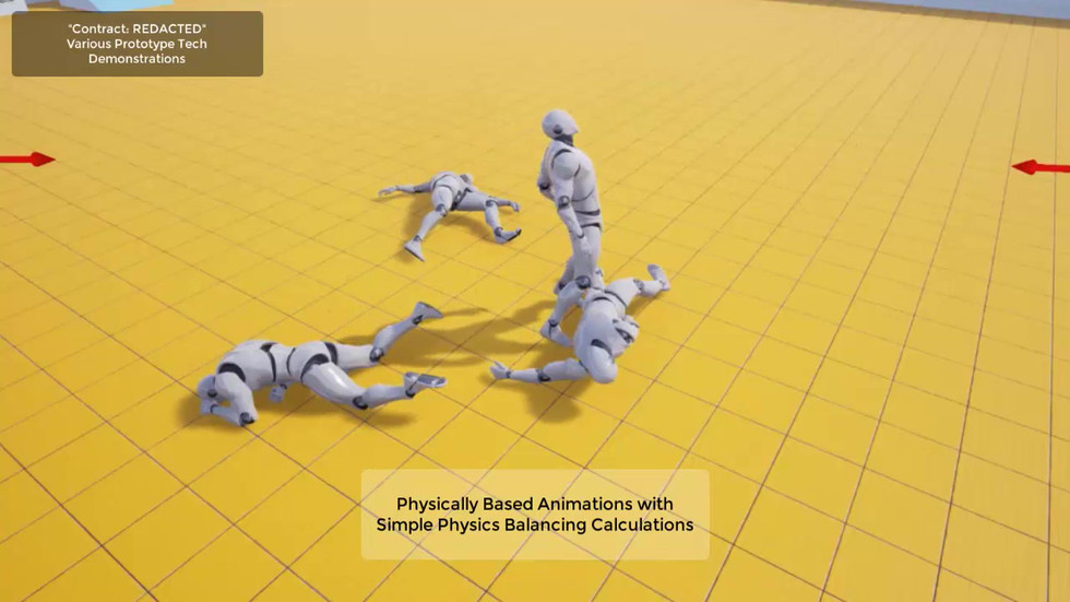 Testing Animation/Physics Blending