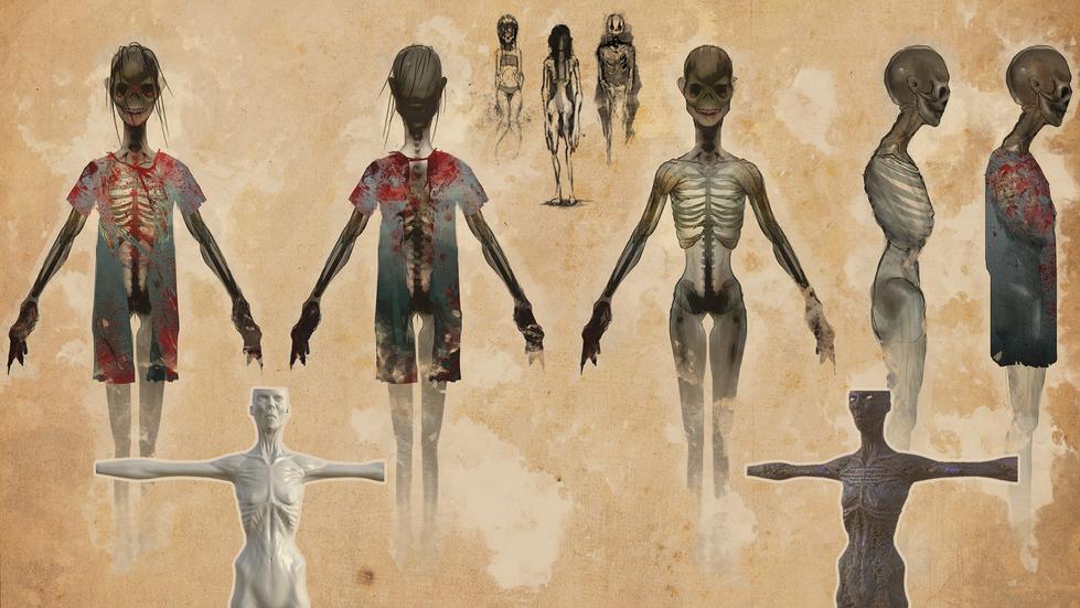Concept Art - Wraith