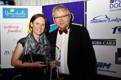 Sinead winning award
