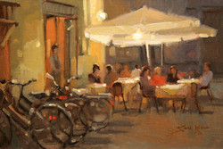 Night in Lucca - study