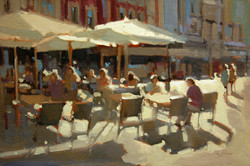 Outdoor Cafe study