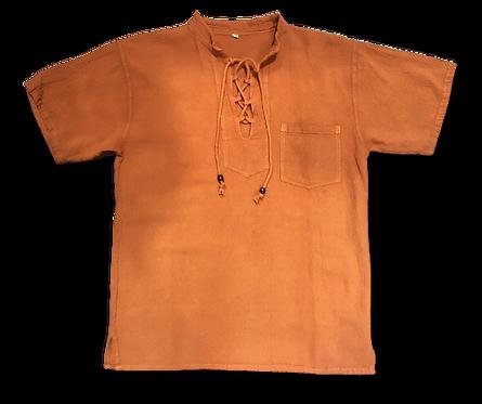 Camisa Manga Corta Artesanal
