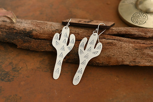 Western Saguaro Earrings