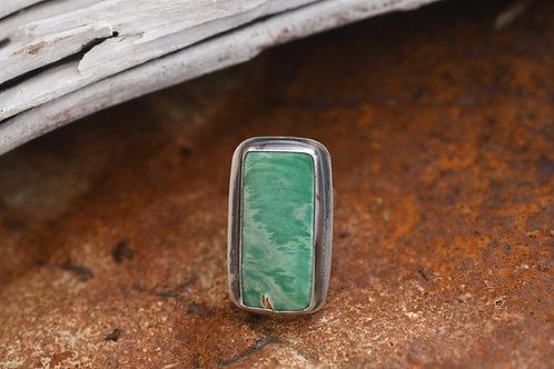 Windswept Australian Variscite Ring