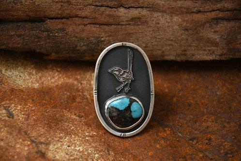 Superb Fairy Wren Ring