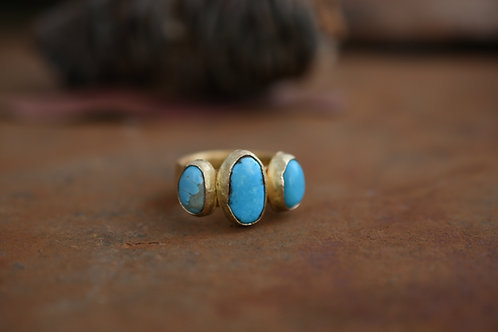 Gold Mi Familia Ring