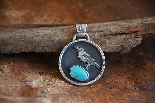 Bowerbird Pendant