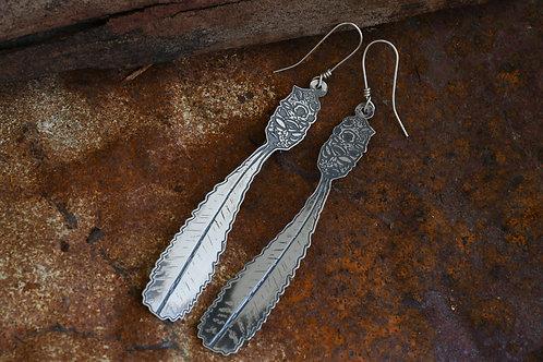 Fire Banksia Earrings