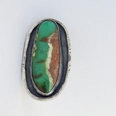 Chrysoprase Nomad Ring