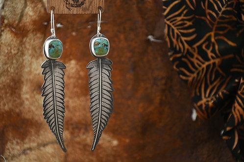 Kingman Fern Earrings