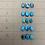 Thumbnail: Custom Turquoise Mi Familia Ring