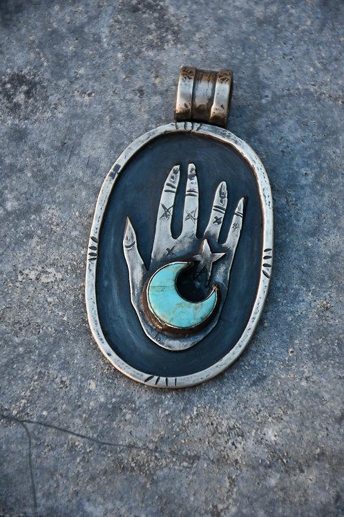 Earthling Hand Pendant