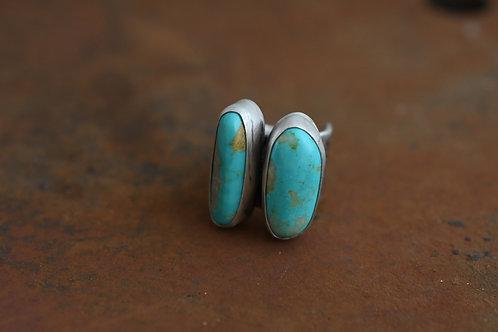 Hachita Double Stone Ring