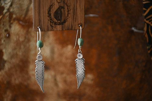 Small Fern Earrings
