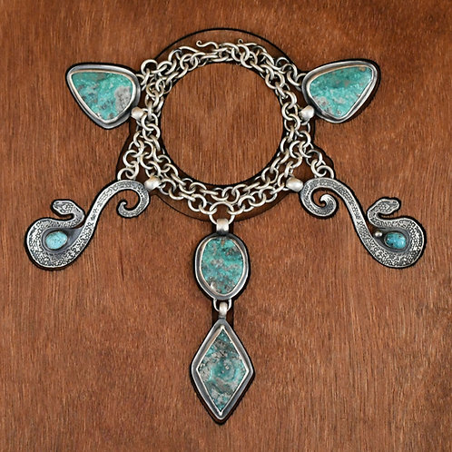 Lilith Double Snake Amulet