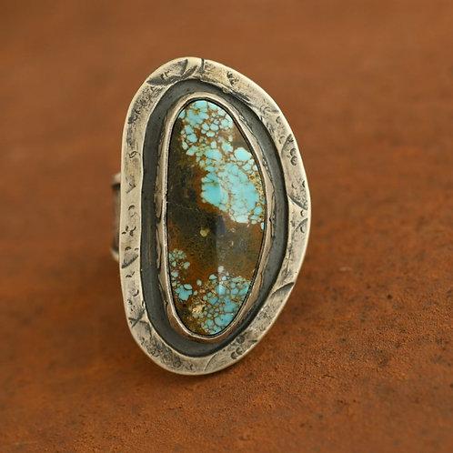 Firoza Earthen Turquoise Ring