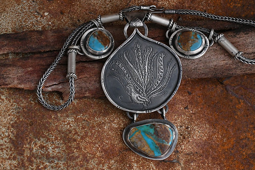 Monga Lyrebird Amulet