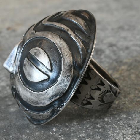 Baluba Mask Ring