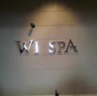 미국 LA 위스파 WI SPA 옷장번호키