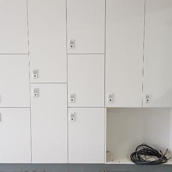 광명연서도서관 개인물품보관함 비밀번호열쇠  KD100S