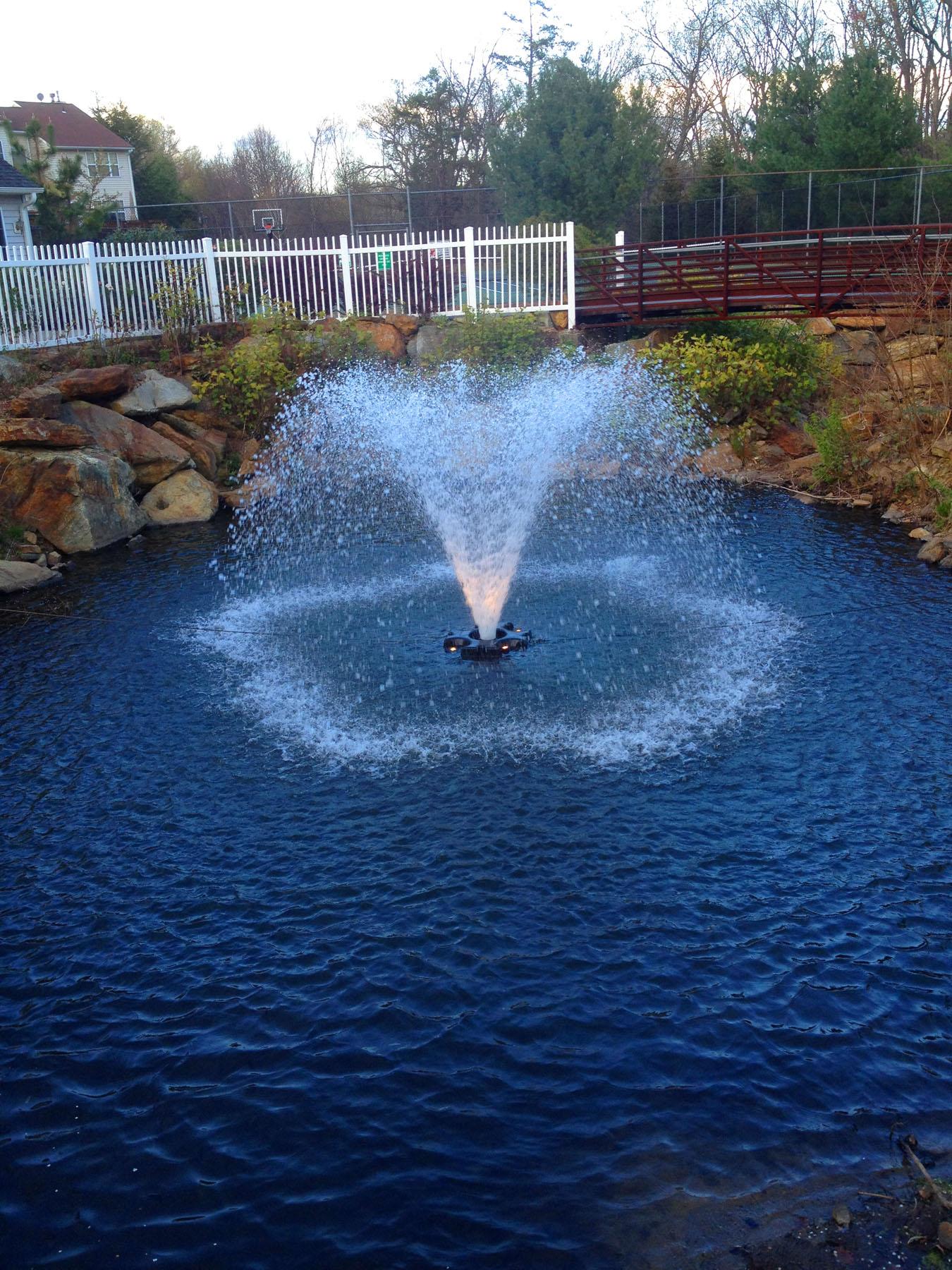 Aeration Fountain Systems