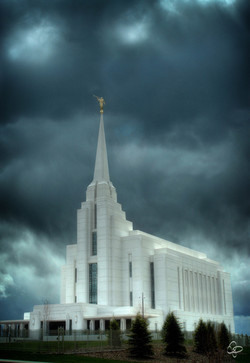 Rexburg Temple - Refuge from the Storm