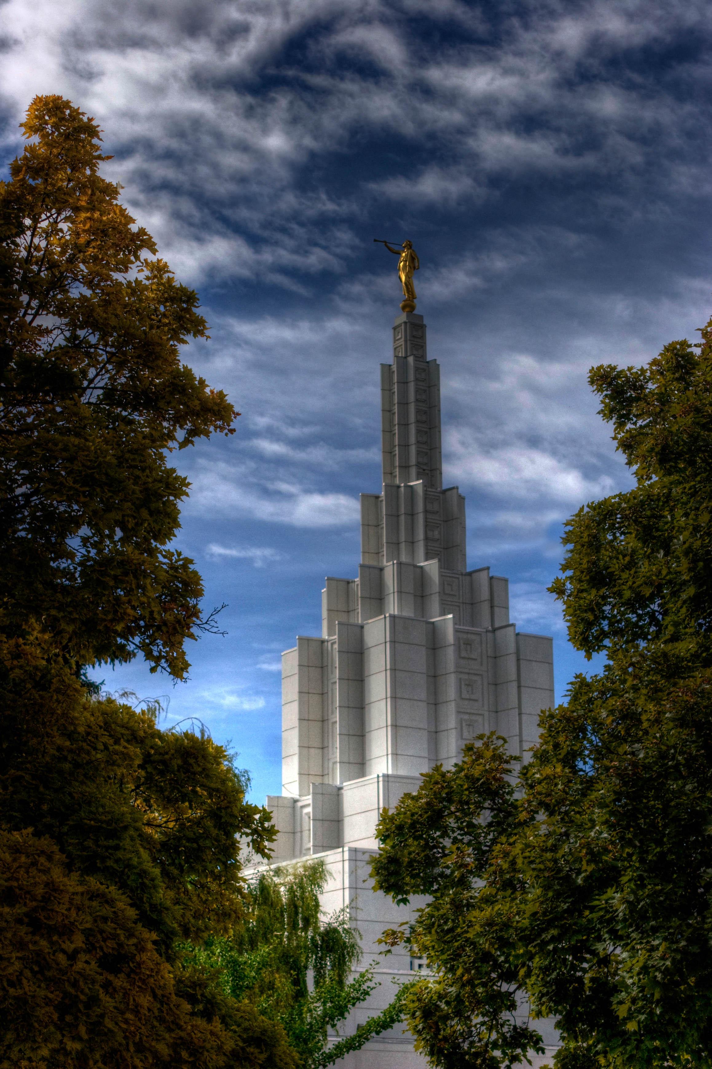 Idaho Falls Idaho Temple HDR