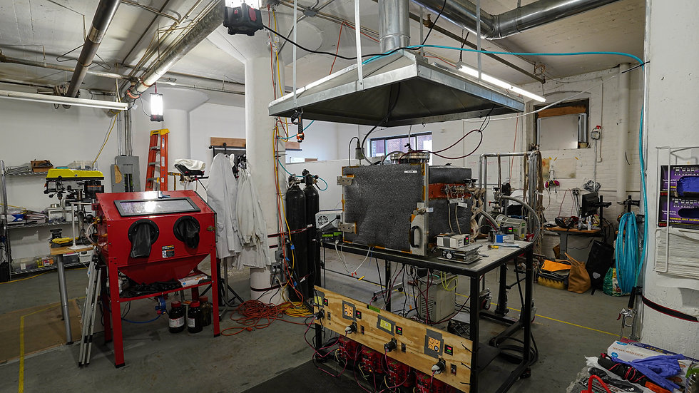 Soliyarn lab in Charelston, MA