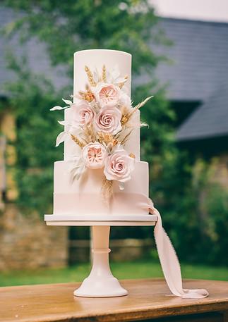 Blush-Wedding-Cake
