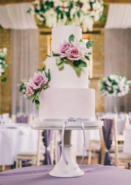 Mauve-Wedding-Cake