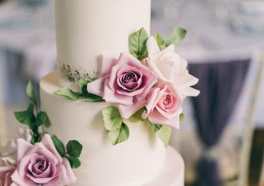 Mauve-Lilac-Pink-Wedding-Cake