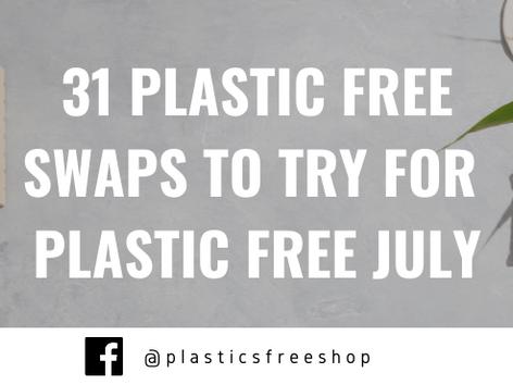 31 Plastic Free Swaps For Plastic Free July