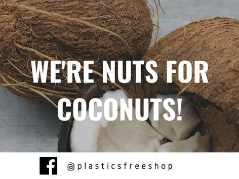 Swap plastic for coconuts TODAY! 🥥